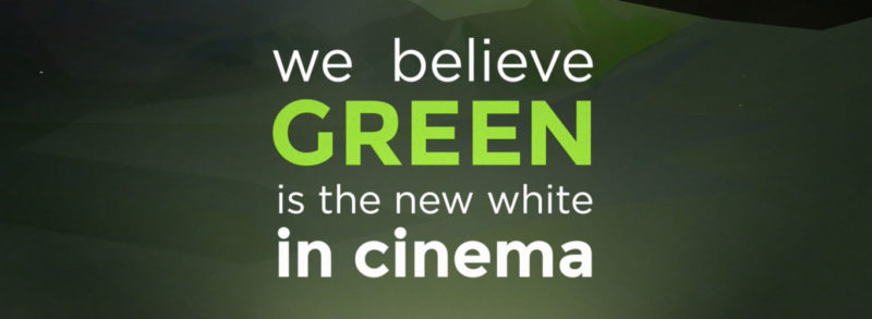 A new shade of green in cinema