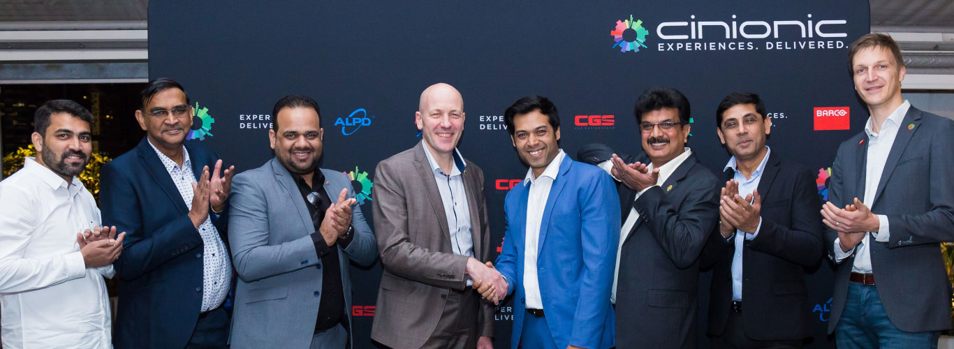 Cinionic trusted with growth, cinema laser projection on the rise in India with Miraj