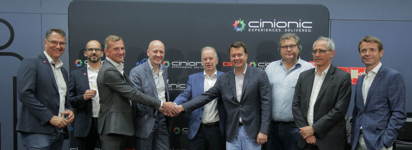 Cinionic and Cineplexx introduce the first all-Laser theater chain in Austria
