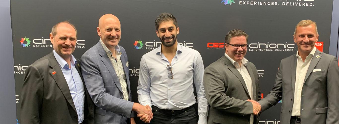 Cinionic Expands in Saudi Arabia with Fawaz Alhokair Group's Muvi Cinemas