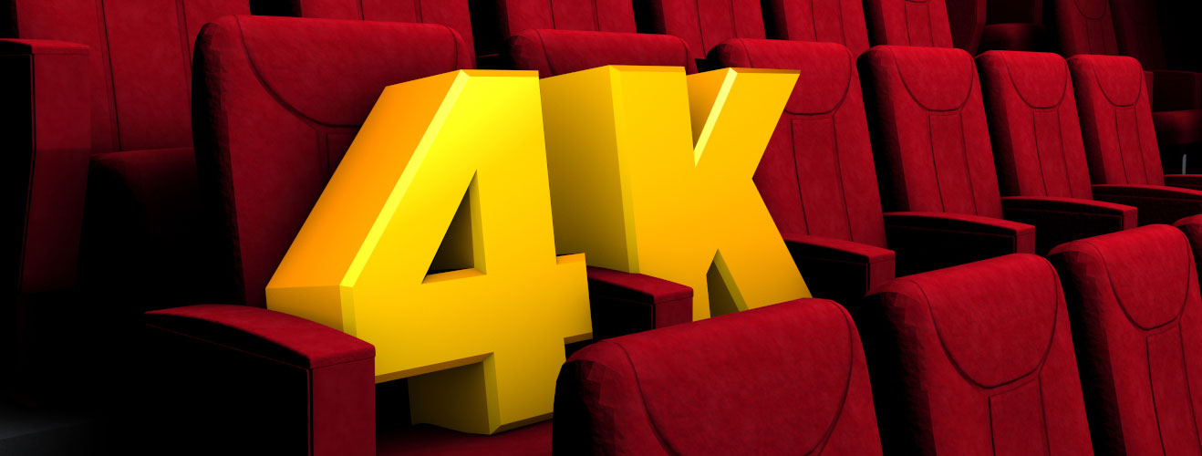 4K in cinema: where did we come from, where are we now, and where are we going?